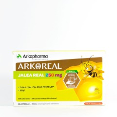 Arkoreal Jalea Real 250 Mg  20 Ampollas Bebibles