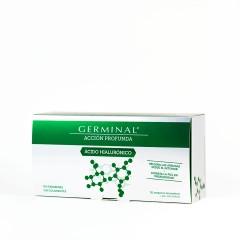 Germinal acción profunda ácido hialurónico 1 ml 30 ampollas