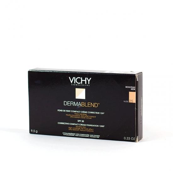 Vichy Dermablend maquillaje compacto corrector spf 30 tono nude-25 9,5 g