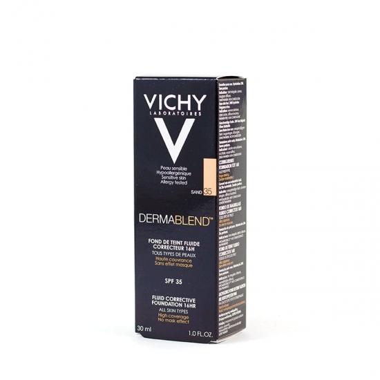 Vichy Dermablend fondo maquillaje corrector spf 35 tono sand-35 30 ml