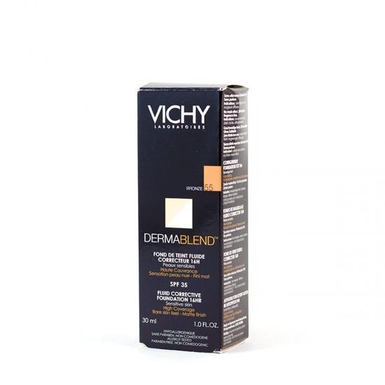 Vichy Dermablend fondo maquillaje corrector spf 35 tono bronce-55 30ml