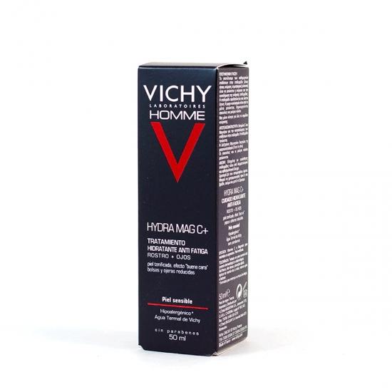 Vichy Homme tratamiento hidratante antifatiga rostro+ojos 50 ml