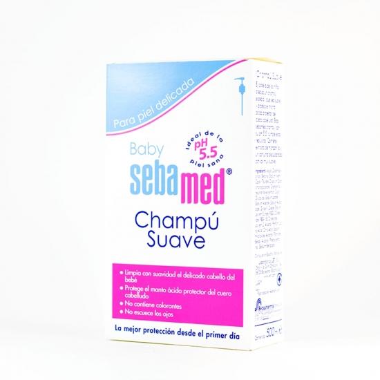 Sebamed baby champu suave 500ml-Farmacia Olmos