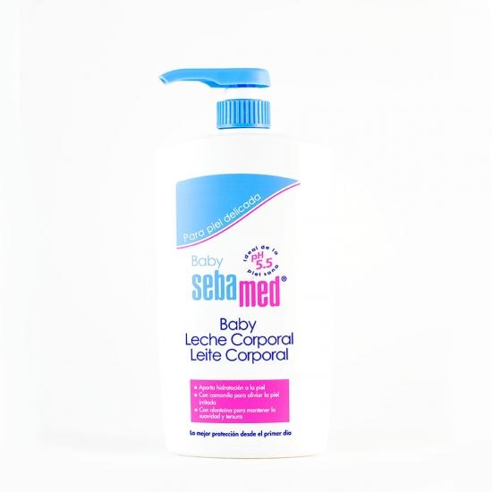 Sebamed baby leche corporal 750ml-Farmacia Olmos