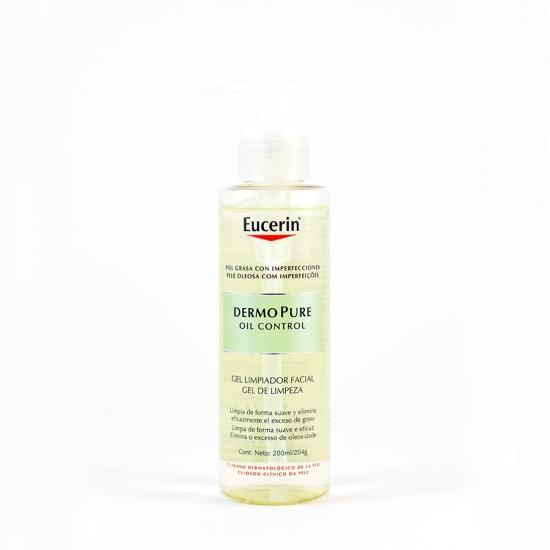 Eucerin dermopure oil control gel limpiador facial 200 ml