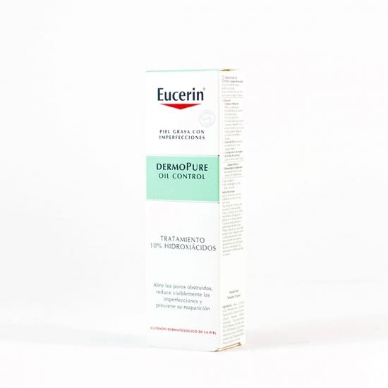 Eucerin dermopure oil control tratamiento 10% hidroxiacidos 40 ml