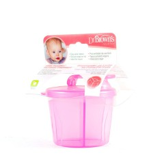 Dr brown´s dispensador de leche en polvo rosa