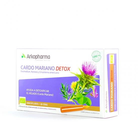 Cardo Mariano Detox Arkopharma 20 ampollas-Farmacia Olmos