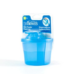 Dr brown´s dispensador de leche en polvo azul