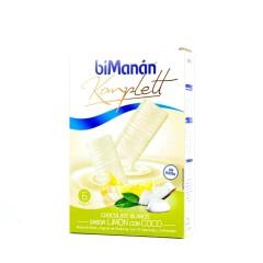 Bimanan komplett barritas chocolate blanco sabor limon con coco 6 un