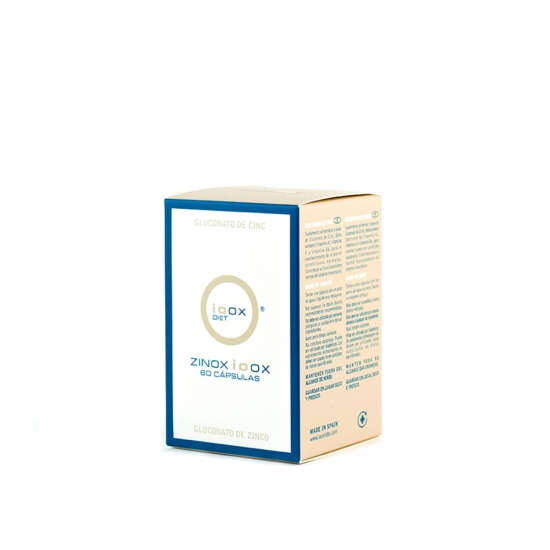 Zinox ioox capsulas  60 caps