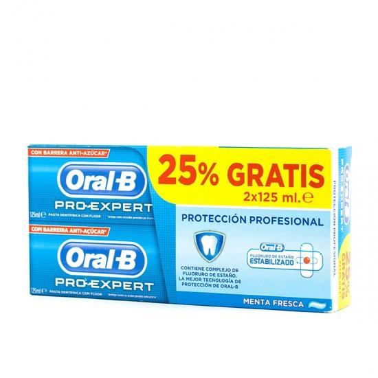 Oral B pro expert pasta dental 125 ml pack 2 un