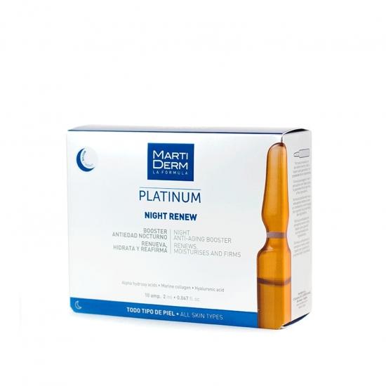 Martiderm night renew 10 ampollas- Farmacia Olmos