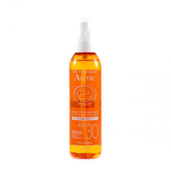 Avene Protección alta spf 30 aceite 200 ml