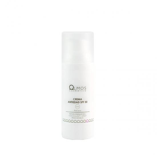 Olmos crema antiedad spf50 piel seca 50ml-Farmacia Olmos
