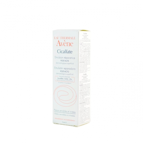 Avene cicalfate emulsion reparadora 40ml - Farmacia Olmos