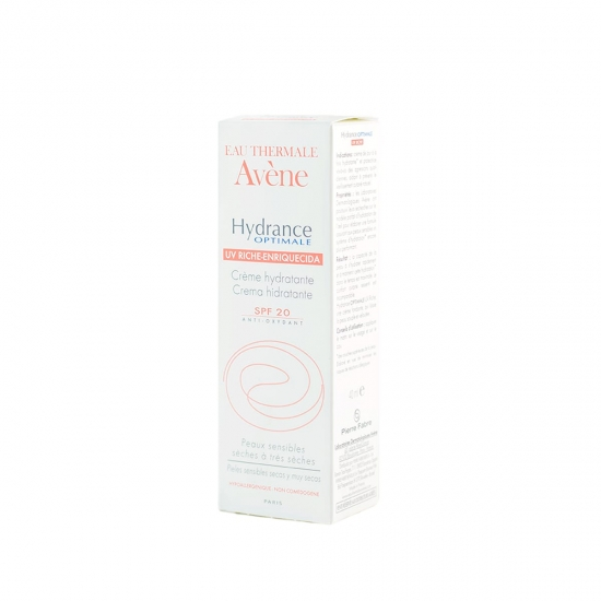 Avene Hydrance optimale enriquecida uv spf 20 40 ml