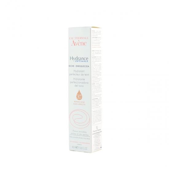Avene Hydrance Optimale perfeccionadora del tono enriquecida spf 30 40 ml