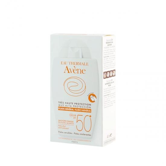Avene Protección muy alta spf 50+ fluído mineral 40 ml