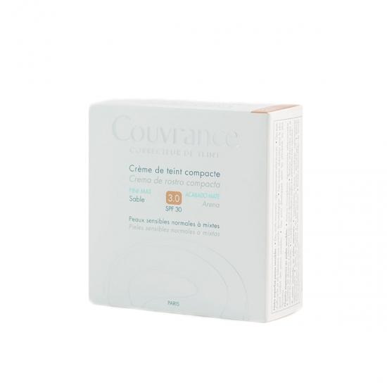 Avene Couvrance crema compacta spf 30 oil-free tono 03 arena