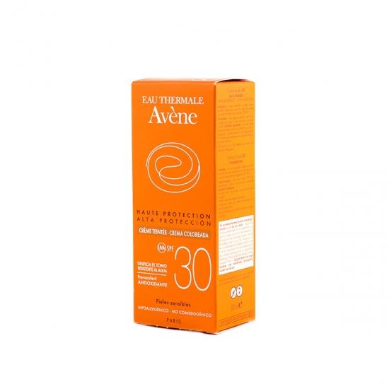 Avene Protección alta spf 30 crema coloreada 50 ml