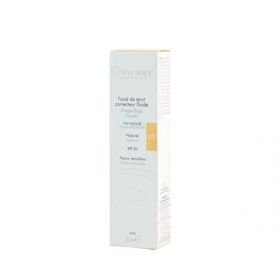 Avene Couvrance maquillaje fluído corrector spf 15 tono 02 natural 30 ml