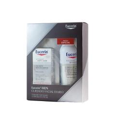 Eucerin men cuidado antiedad + espuma de afeitar box