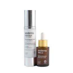 Sesderma piel renovada y rejuvenecida aglicolic 50ml + ferulac 30 ml - Farmacia Olmos