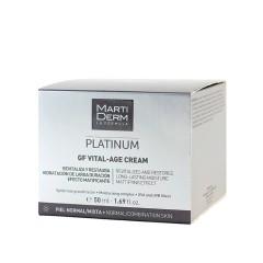 Martiderm Platinum Vital Age crema piel normal y mixta 50 ml