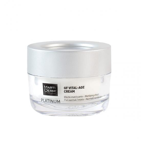 Martiderm platinum gf vital age crema p normal y mixta  50 ml- Farmacia Olmos