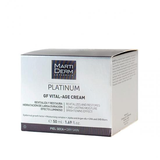 Martiderm platinum gf vital age crema p seca y muy seca  50 ml- Farmacia Olmos