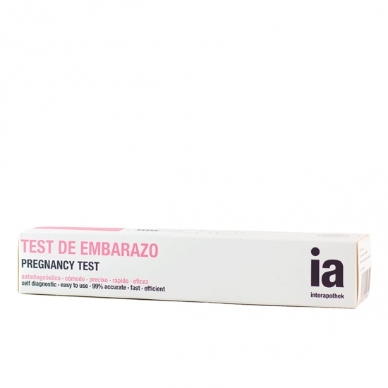 Interapothek test de embarazo 1 u