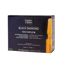 Martiderm Black Diamond Skin Complex+ 2 ml 10 ampollas