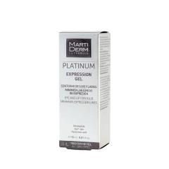Martiderm Platinum Expression gel contorno ojos y labios 15 ml