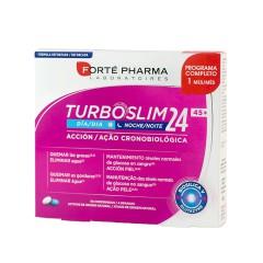 Forté Pharma turboslim cronoactive forte 45+ 28 comprimidos dia + 28 comprimidos noche
