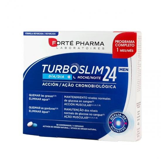 Forte pharma turboslim cronoactive forte men 56 comprimidos- Farmacia Olmos
