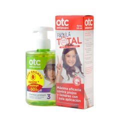 Otc antipiojos formula total 125 ml+ champu protect 300 ml