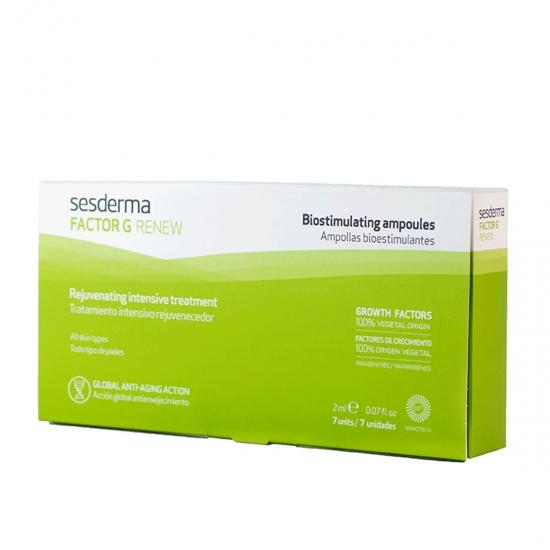 Sesderma factor g renew 7 ampolla bioestimulantes