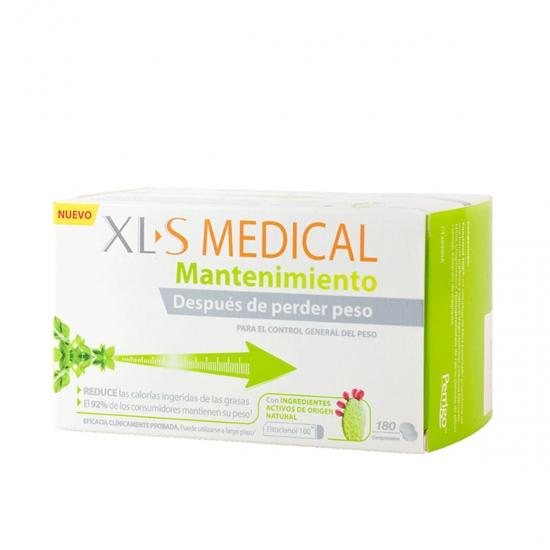Xls medical mantenimiento 180 cmprimos