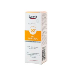 Eucerin Sun protection spf 50+ gel-crema rostro oil control 50 ml