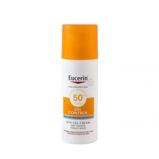 Eucerin Sun protection spf 50+ gel-crema rostro oil control 50 ml