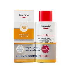 Eucerin sun protection 50+ locion extra light 150 ml