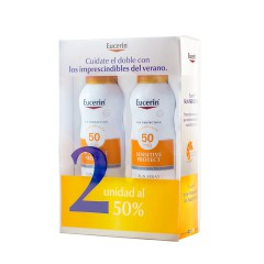 Eucerin sun protection 50 pack spray transparente dry touch 200 ml 2 un