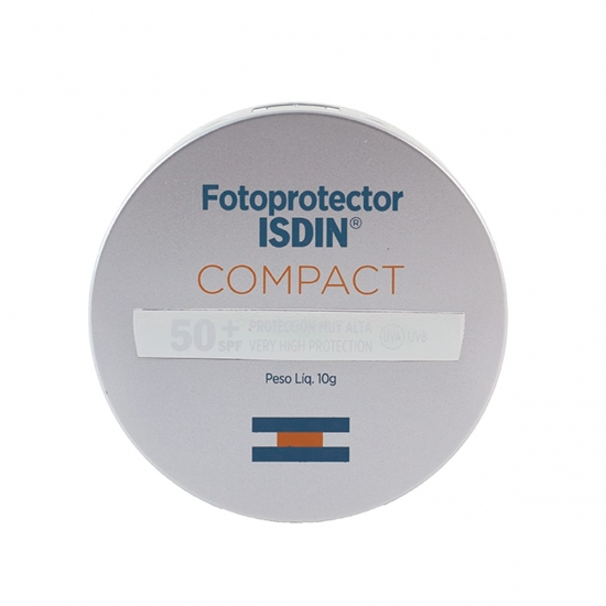 Isdin compact spf-50+ maquillaje compacto oil-free arena 10 g - Farmacia Olmos