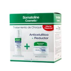 Somatoline kit tratamiento choque (noche 7días 450ml+ resistente 150ml)