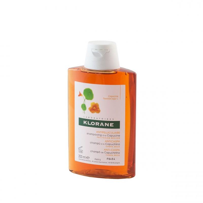 Klorane champu anticaspa a la capuchina 200ml- Farmacia Olmos