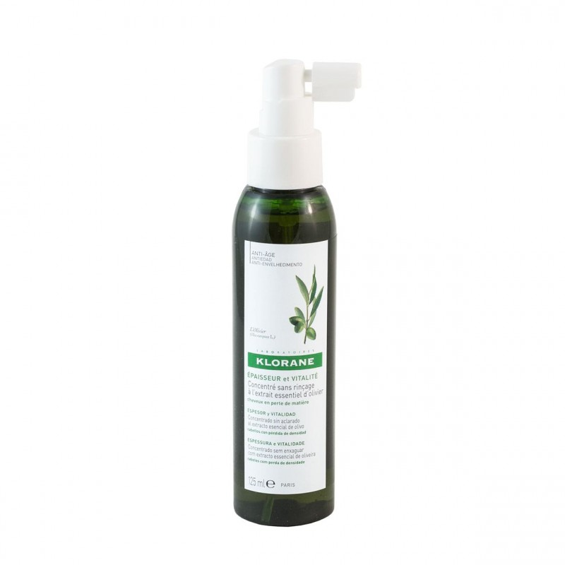 Klorane concentrado espesor y vitalidad al extto olivo  125 ml- Farmacia Olmos