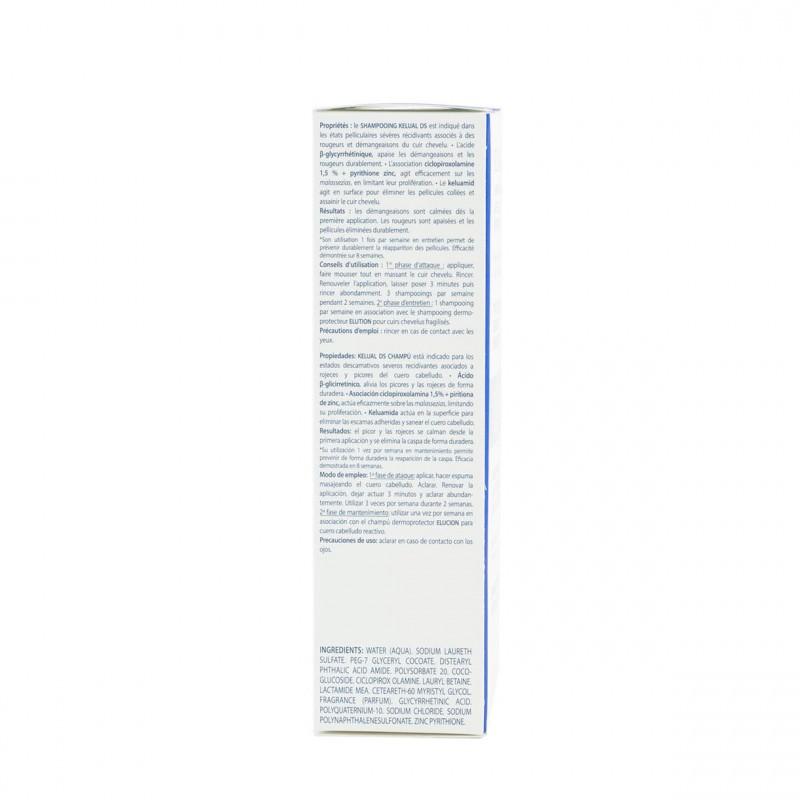 Kelual ds champu anticaspa 100ml-Farmacia Olmos