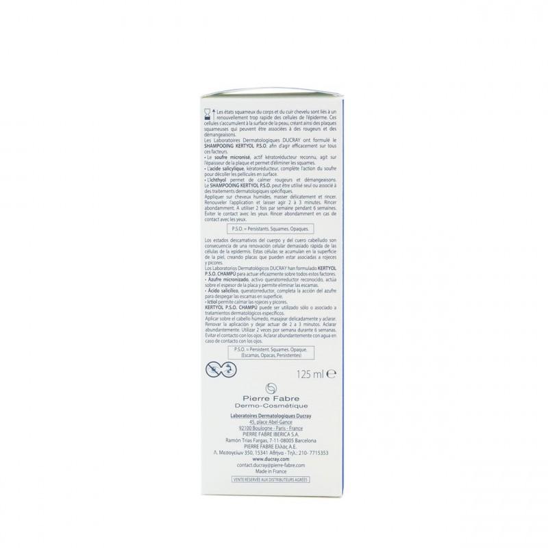 Kertyol pso champu queratorreductor 200ml-Farmacia Olmos
