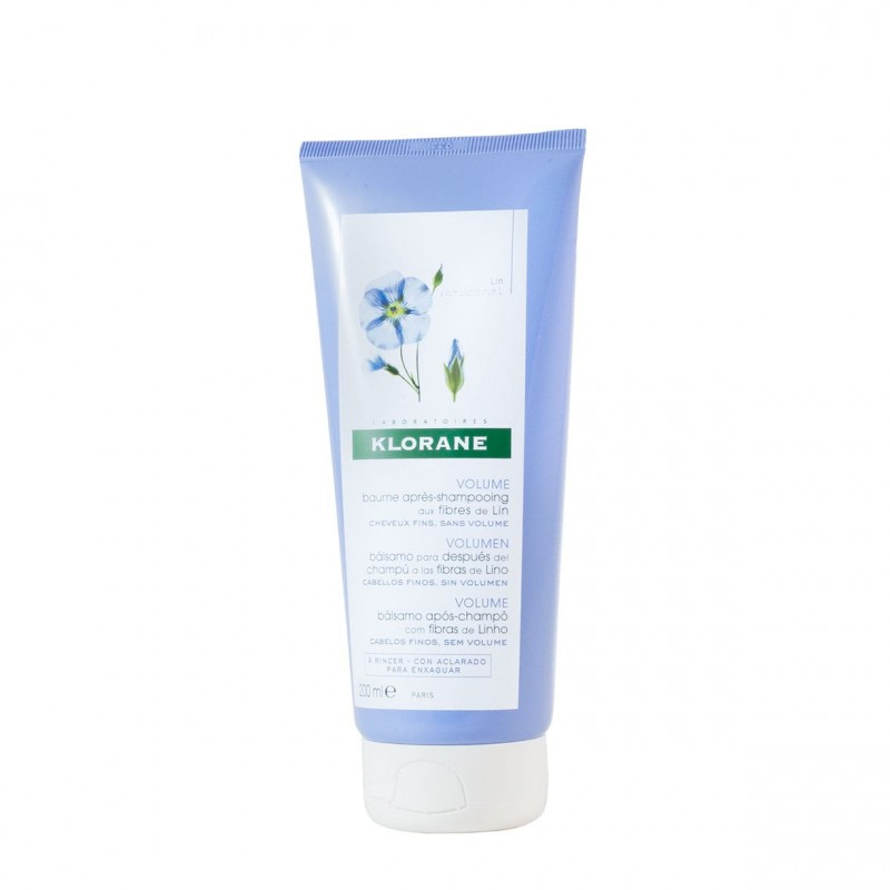 Klorane balsamo despues champu fibras de lino  150 ml- Farmacia Olmos